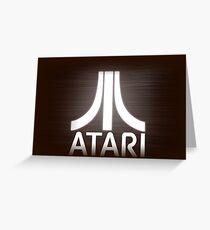 atari video game Greeting Card