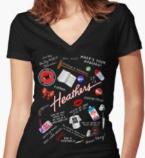 Heather's World Women's Fitted V-Neck T-Shirt