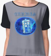 TARDIS DR WHO Chiffon Top