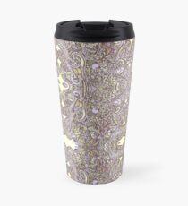 Swirling Leaves  Travel Mug