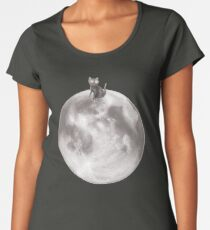 Lost in a Space / Moonelsh Women's Premium T-Shirt