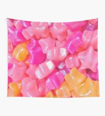 Candy Stars  Wall Tapestry