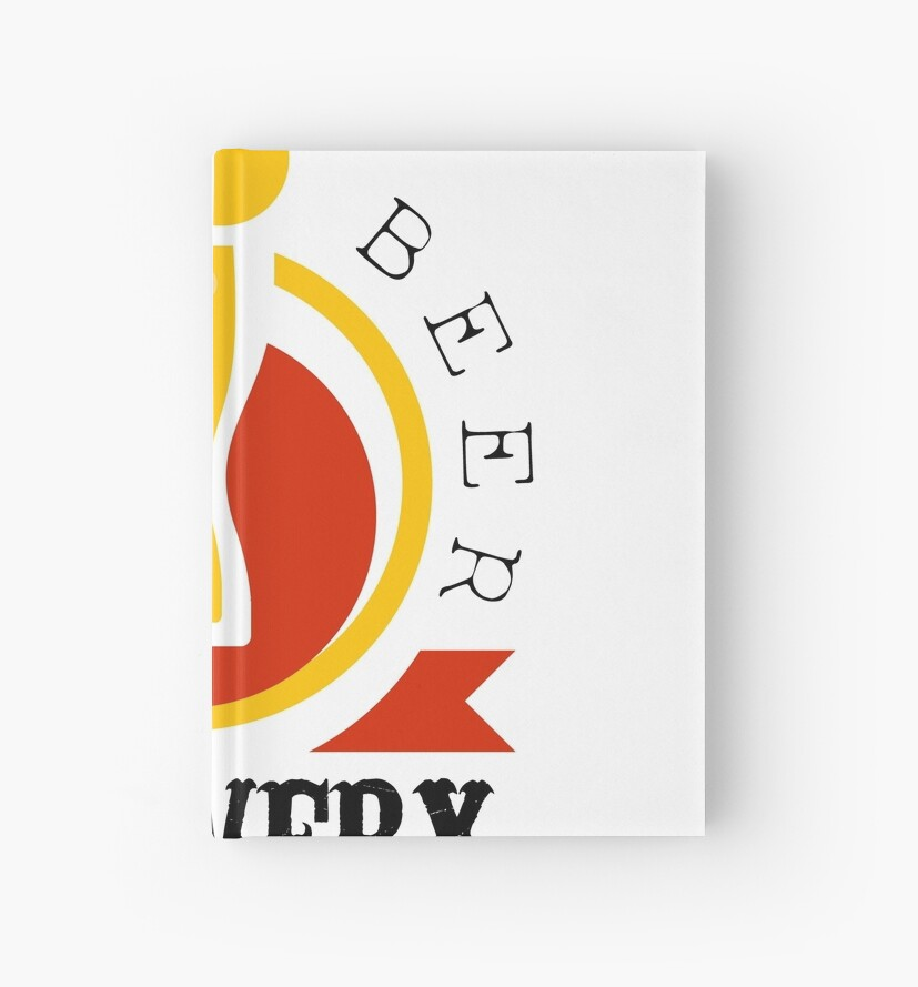 craft beer brewery logo design template hardcover journals by