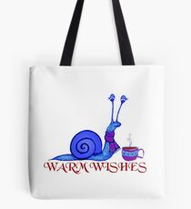 Blue Snail's Warm Wishes Tote Bag