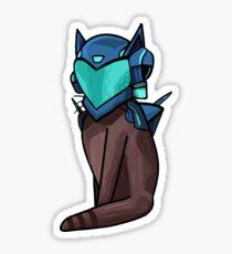Halo Copperhead cat Sticker