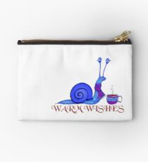 Blue Snail's Warm Wishes Studio Pouch