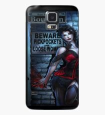 Sexy Vampire Girl  Case/Skin for Samsung Galaxy