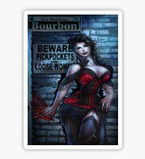 Sexy Vampire Girl  Sticker