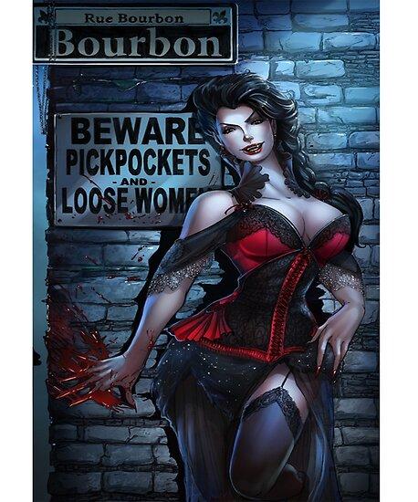 Sexy Vampire Girl  by nolamaddog