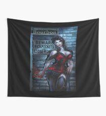 Sexy Vampire Girl  Wall Tapestry