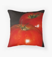 Lucious Tomatoes Throw Pillow