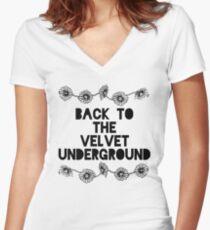 So I'm Back Women's Fitted V-Neck T-Shirt
