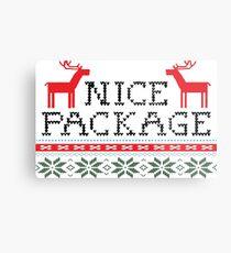 Nice Package Gay Christmas Metal Print