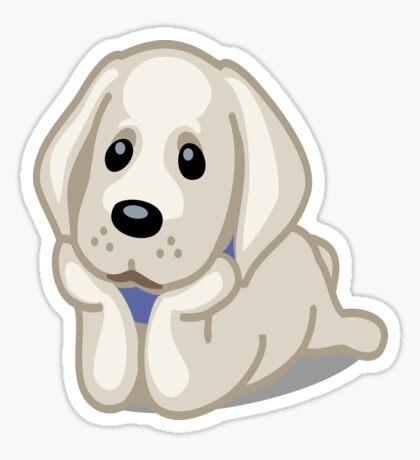 Labrador Retriever tshirt Sticker