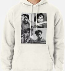 Sudadera con capucha Cole Sprouse Collage B & W