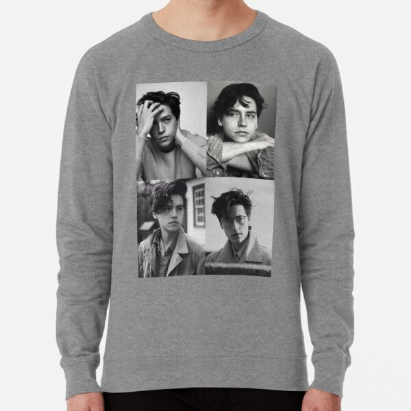 Cole Sprouse Collage B&W Lightweight Sweatshirt