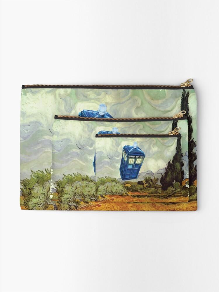 Alternative Ansicht von Vincent und der Doktor Täschchen