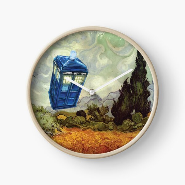 Vincent and the Doctor Clock