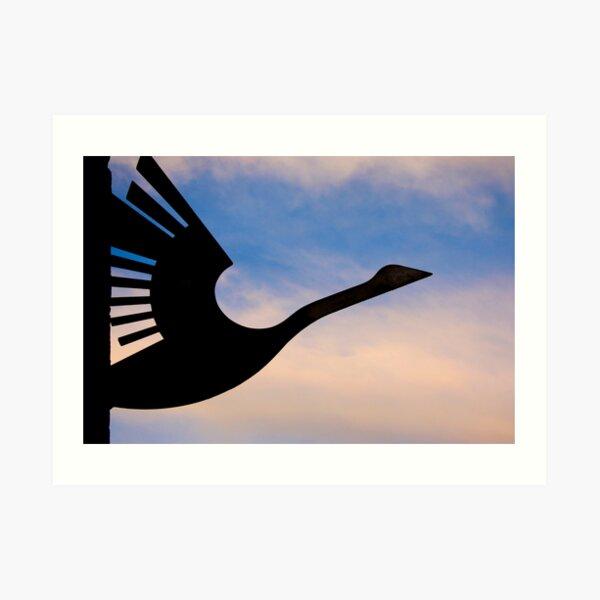 Wanting to take flight Art Print