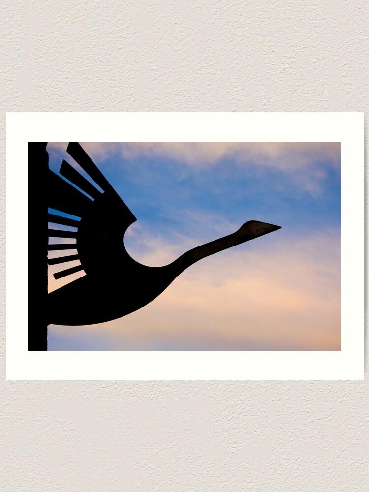 Alternate view of Wanting to take flight Art Print