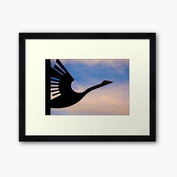 Wanting to take flight Framed Art Print