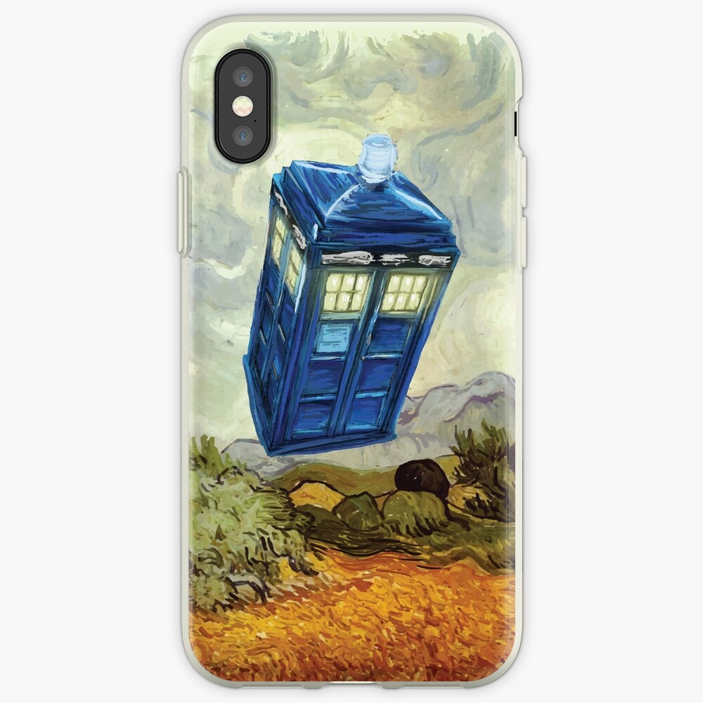 Vincent und der Doktor iPhone-Hüllen & Cover