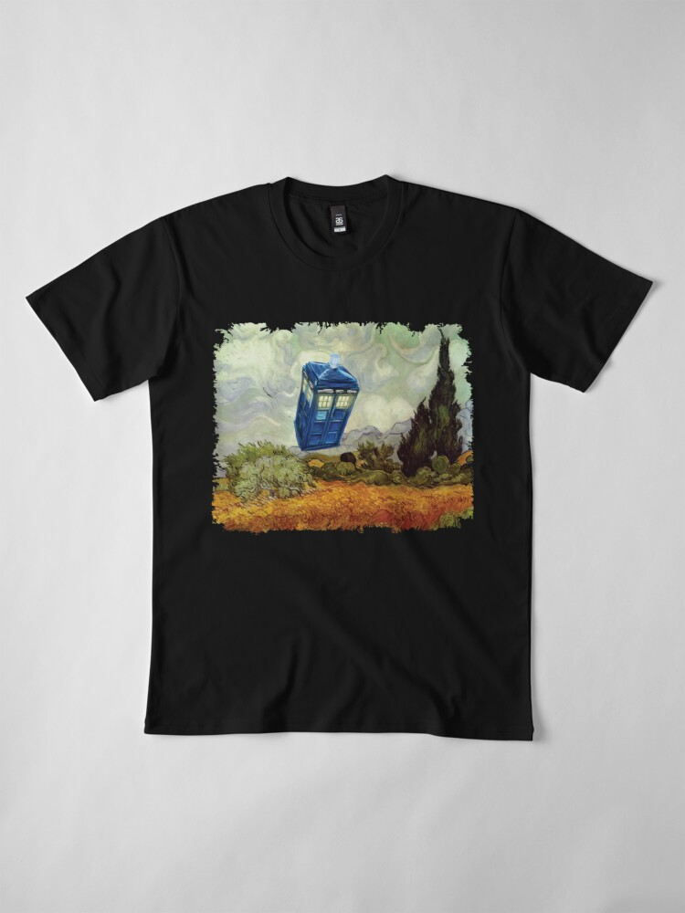 Alternate view of Vincent and the Doctor Premium T-Shirt