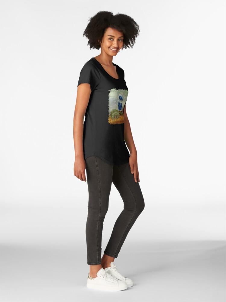 Alternative Ansicht von Vincent und der Doktor Premium Rundhals-Shirt