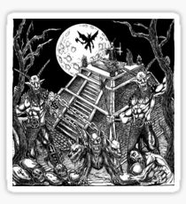 Demon Temple Sticker