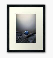 born of dusty twilight fire... Framed Print