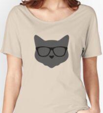 Nerd Cat Women's Relaxed Fit T-Shirt