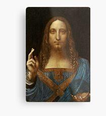 Da Vinci Salvator Mundi Metal Print