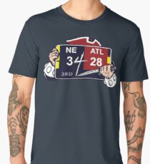 New England Patriots / Ultimate Comeback 28-3 Men's Premium T-Shirt