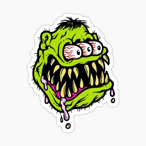 Tri Fink Monster Sticker
