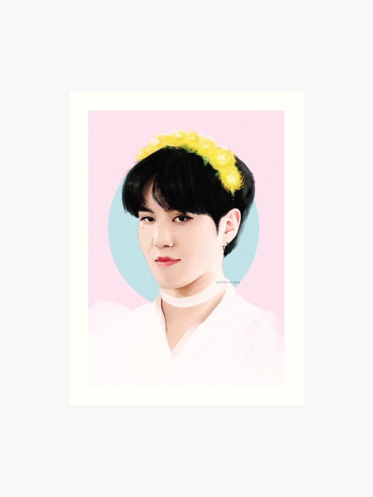 Got7 Dandelion Yugyeom Art Print By Punksirens Redbubble