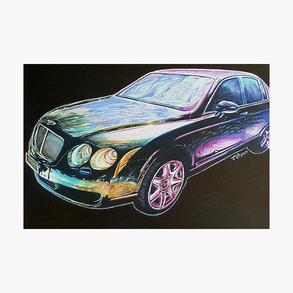 Beautiful Bentley Photographic Print