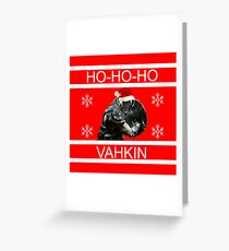 Ho-Ho-Hovahkin Greeting Card