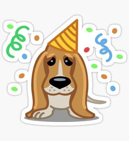 Basset Hound tshirt - Dog Gifts for Basset Hound Lovers Sticker