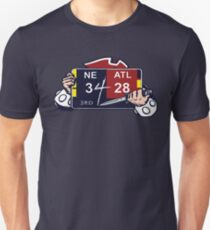 New England Patriots / Ultimate Comeback 28-3 Unisex T-Shirt