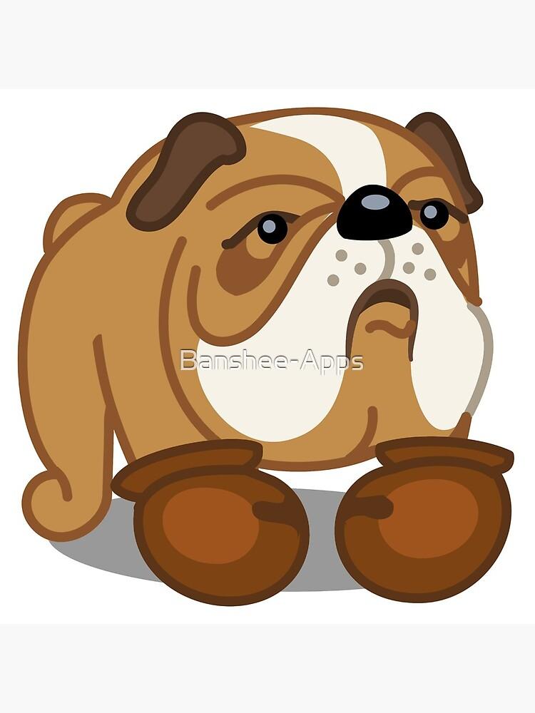 Bulldog Boxer tshirt - Dog Gifts for Boxer and Bulldog Pet Lovers by Banshee-Apps