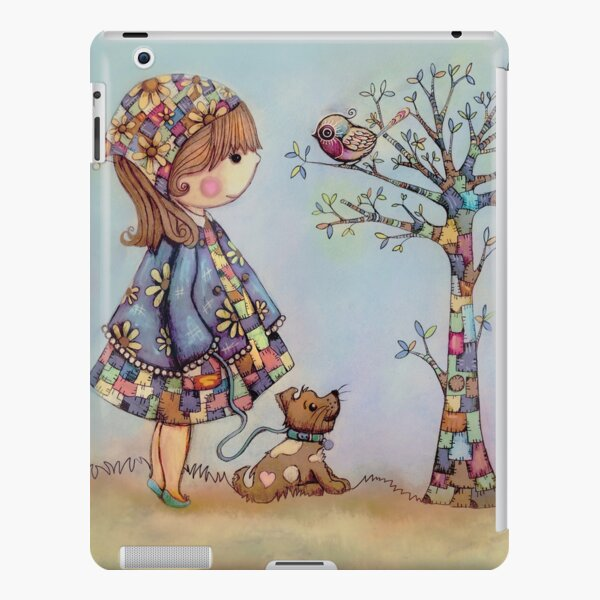 The Patchwork Tree iPad Snap Case