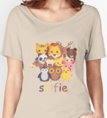 Animal Selfie Women's Relaxed Fit T-Shirt