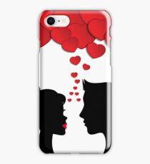 Romantic couple iPhone Case/Skin