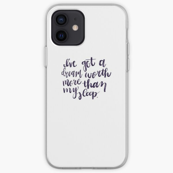 I've Got a Dream Worth More Than My Sleep - Hustler Stuff iPhone Soft Case