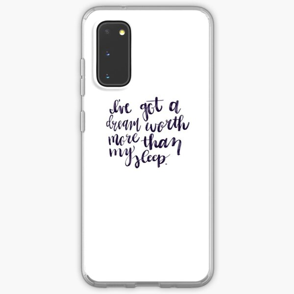 I've Got a Dream Worth More Than My Sleep - Hustler Stuff Samsung Galaxy Soft Case