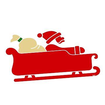 Sleigh All Day Christmas by sigo