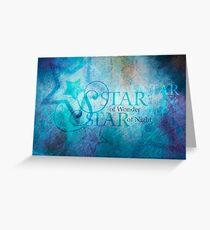 Star of Wonder Greeting Card