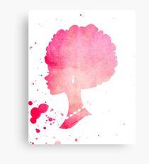 African American Barbie Canvas Print