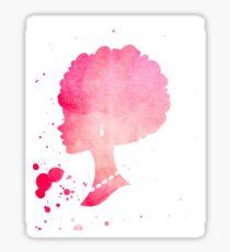 African American Barbie Sticker