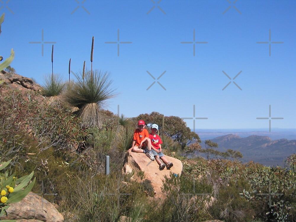 Lee & Clayton, St Mary's Peak, Flinder's Ranges by MarianH